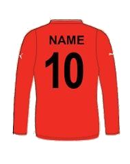 personalised football shirt